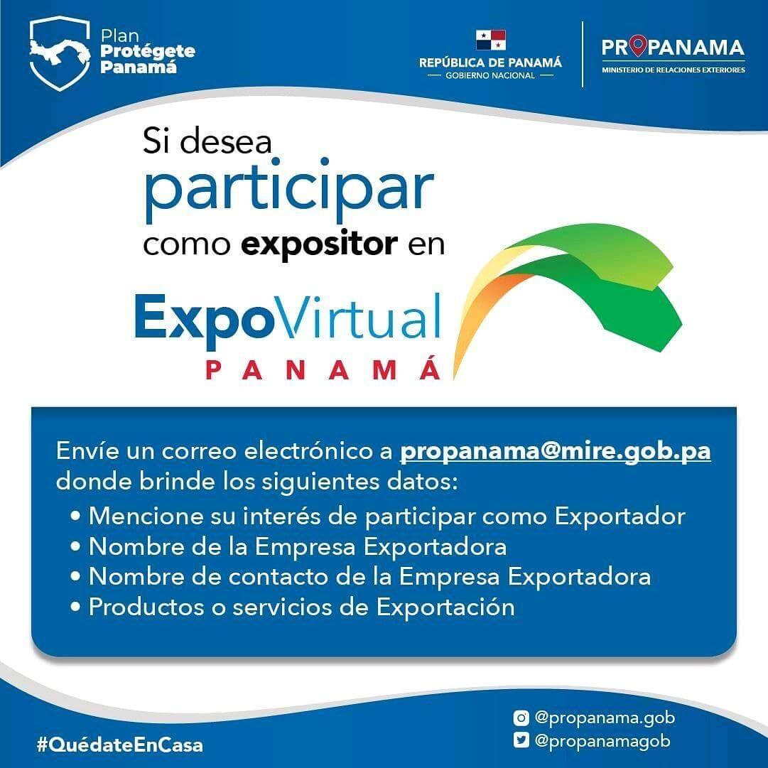 EXPOVIRTUAL PANAMÁ - INSCRÍBETE ANTES DEL JUEVES 25 DE JUNIO